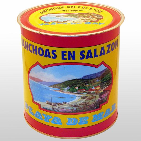 Anchoas en salazon tipo Spagna 10 Kg. Di Caro Sciacca